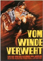 "Gone with the Wind Vom Winde Verweht - 11"" x 17"" - $15.49"