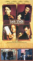 "Lock Stock and 2 Smoking Barrels Tall - 11"" x 17"""