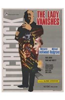 "The Lady Vanishes - Hitchcock - 11"" x 17"""