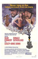 """The Great Train Robbery movie poster - 11"""" x 17"""""""