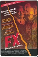 "Fx Murder By Illusion Movie - 11"" x 17"""