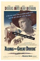 """Along the Great Divide - 11"""" x 17"""", FulcrumGallery.com brand"""