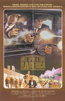 """Once Upon a Time in America Ganagsters - 11"""" x 17"""""""