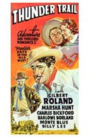 "Thunder Trail Gilbert Roland - 11"" x 17"""