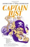 "Captain Lust - 11"" x 17"""