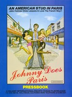 "Johnny Does Paris - 11"" x 17"""