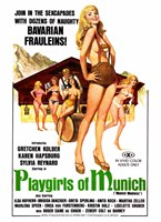 Playgirls of Munich Framed Print