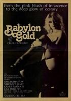 "Babylon Gold - 11"" x 17"""