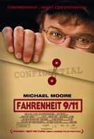 "Fahrenheit 9-11 Michael Moore - 11"" x 17"", FulcrumGallery.com brand"