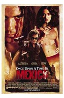 """Once Upon a Time in Mexico - 11"""" x 17"""""""