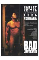 "Bad Lieutenant - Nude man - 11"" x 17"""