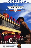 """Tucker: the Man and His Dream Diner & Classic Car - 11"""" x 17"""""""