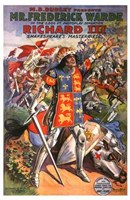 "Richard III Ferderick Warde - 11"" x 17"""