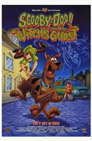Scooby-Doo and the Witch's Ghost Framed Print