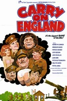 "Carry on England - 11"" x 17"""