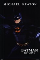Batman Returns Michael Keaton Wall Poster