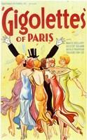 """Gigolettes of Paris - 11"""" x 17"""""""