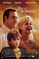"Pay it Forward Movie - 11"" x 17"""