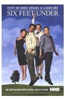 "Six Feet Under Cast - 11"" x 17"""