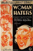 """Woman Haters - 11"""" x 17"""""""
