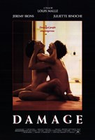 Damage By Louis Malle Wall Poster