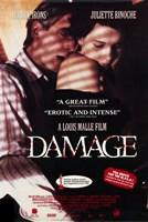"""Damage Juliette Binoche - 11"""" x 17"""""""