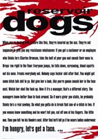 Reservoir Dogs Quote Wall Poster