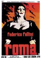 Fellini's Roma Film Italian Wall Poster
