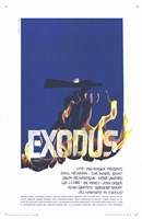 Exodus - fire Wall Poster