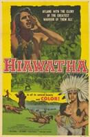 """Hiawatha - 11"""" x 17"""""""