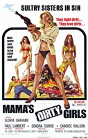 "Mama's Dirty Girls, 1974, 1974 - 11"" x 17"""