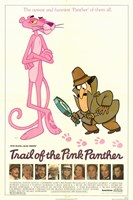 "Trail of the Pink Panther movie poster - 11"" x 17"""