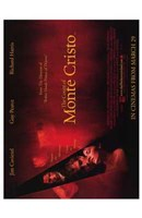 """The Count of Monte Cristo - red - 11"""" x 17"""" - $15.49"""