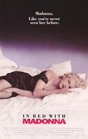Truth or Dare In Bed with Madonna Wall Poster