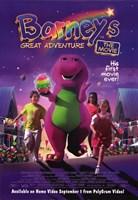 "Barney's Great Adventure - 11"" x 17"""