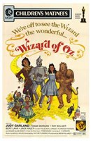 """The Wizard of Oz We're Off to See the Wizard - 11"""" x 17"""""""