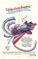 Chitty Chitty Bang Bang - Car Wall Poster