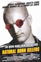 "Natural Born Killers Woody Harrelson - 11"" x 17"""