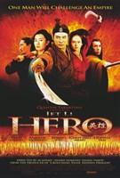 "Hero Jet Li Cast - 11"" x 17"""