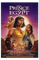"""The Prince of Egypt Movie - 11"""" x 17"""", FulcrumGallery.com brand"""