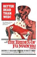 "The Brides of Fu Manchu - 11"" x 17"", FulcrumGallery.com brand"