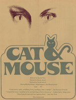 """Cat and Mouse - 11"""" x 17"""", FulcrumGallery.com brand"""