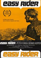Easy Rider Orange Fine Art Print