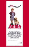 "Annie Movie of Tomorrow Tall - 11"" x 17"""