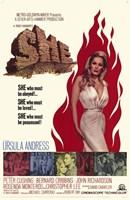 "She Ursula Andress - 11"" x 17"""