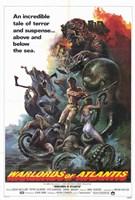 """Warlords of Atlantis, 1978, 1978 - 11"""" x 17"""""""