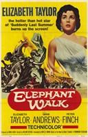 """Elephant Walk - 11"""" x 17"""" - $15.49"""