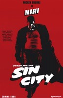 Sin City Marv Wall Poster