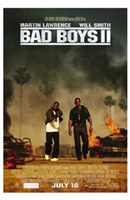 Bad Boys II Movie Fine Art Print
