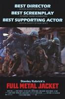 Full Metal Jacket Stanley Kubrick Wall Poster
